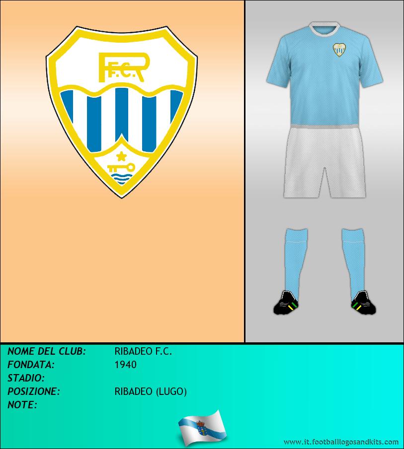 Logo di RIBADEO F.C.
