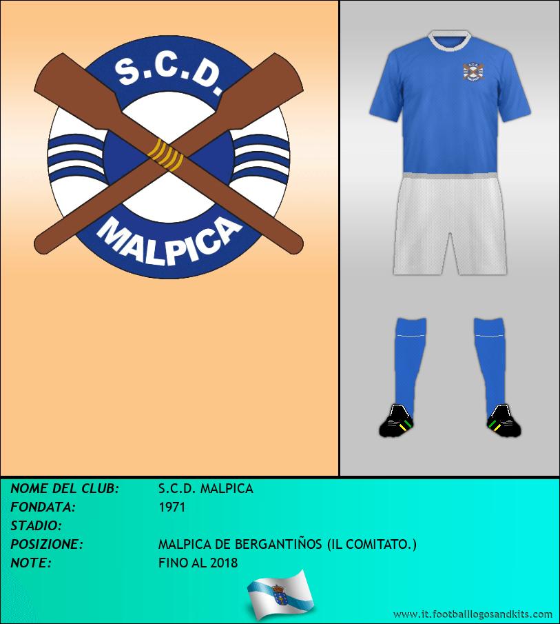 Logo di S.C.D. MALPICA