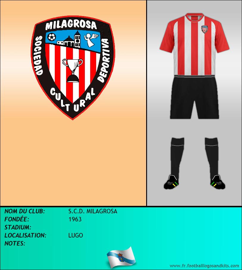 Logo de S.C.D. MILAGROSA