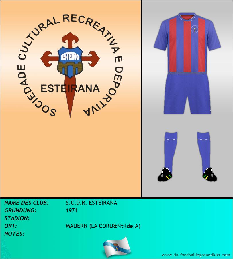 Logo S.C.D.R. ESTEIRANA
