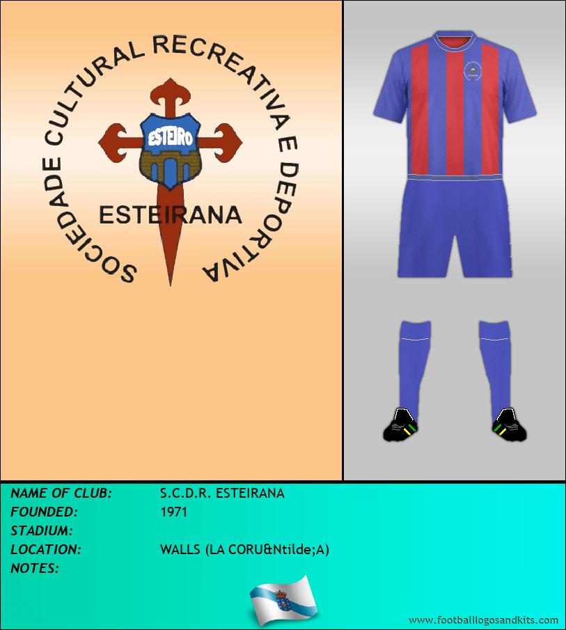 Logo of S.C.D.R. ESTEIRANA