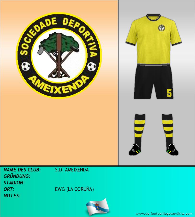 Logo S.D. AMEIXENDA