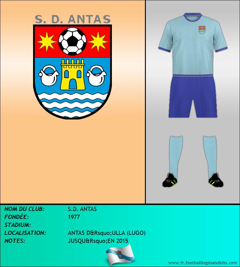 Logo de S.D. ANTAS