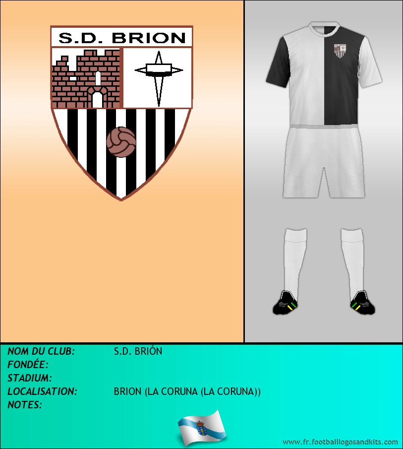 Logo de S.D. BRIÓN