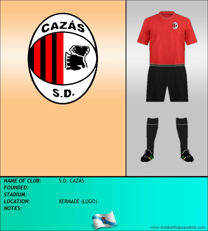 Logo of S.D. CAZÁS