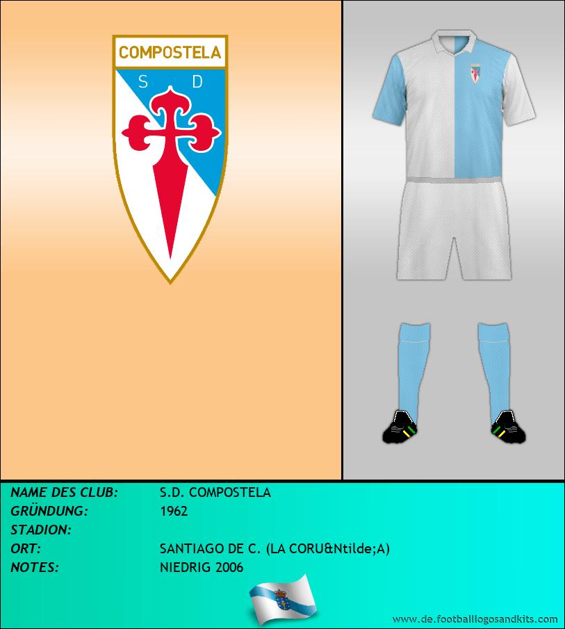 Logo S.D. COMPOSTELA