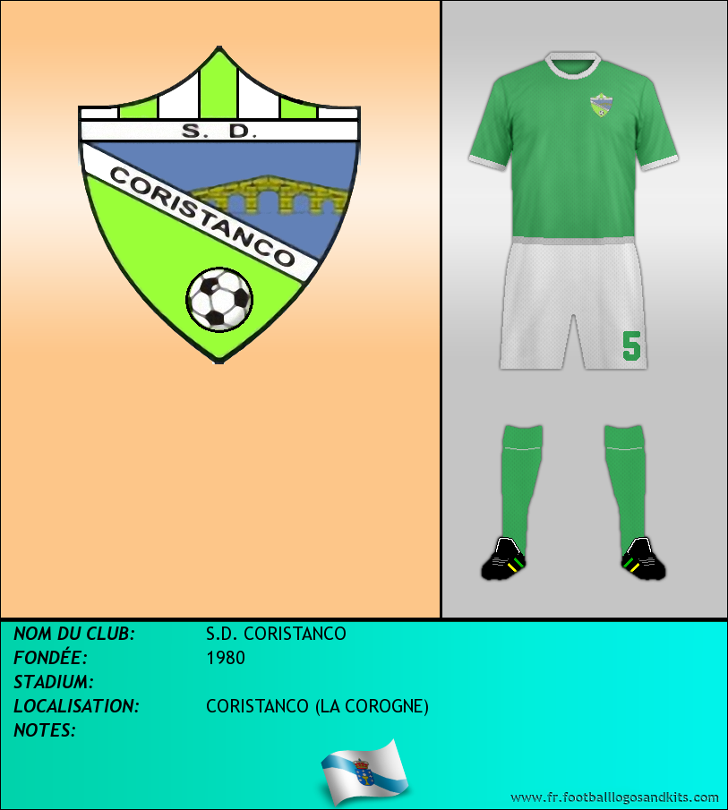 Logo de S.D. CORISTANCO