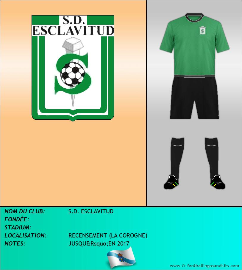 Logo de S.D. ESCLAVITUD