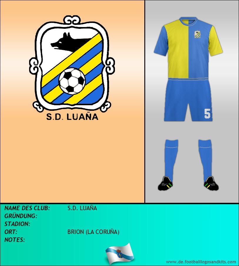Logo S.D. LUAÑA