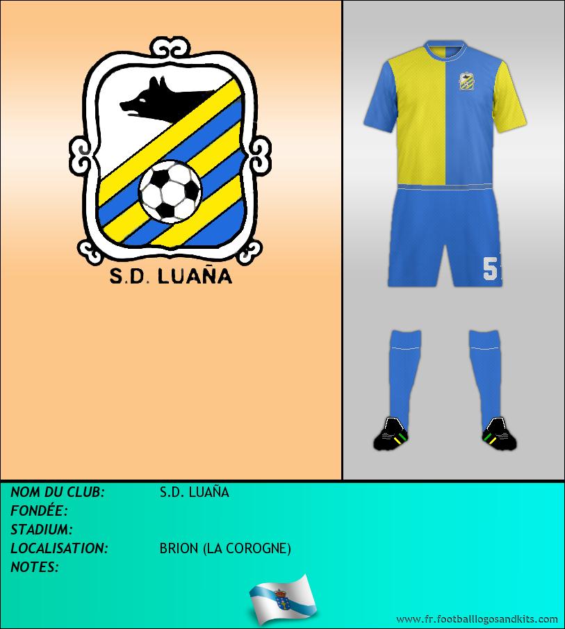 Logo de S.D. LUAÑA