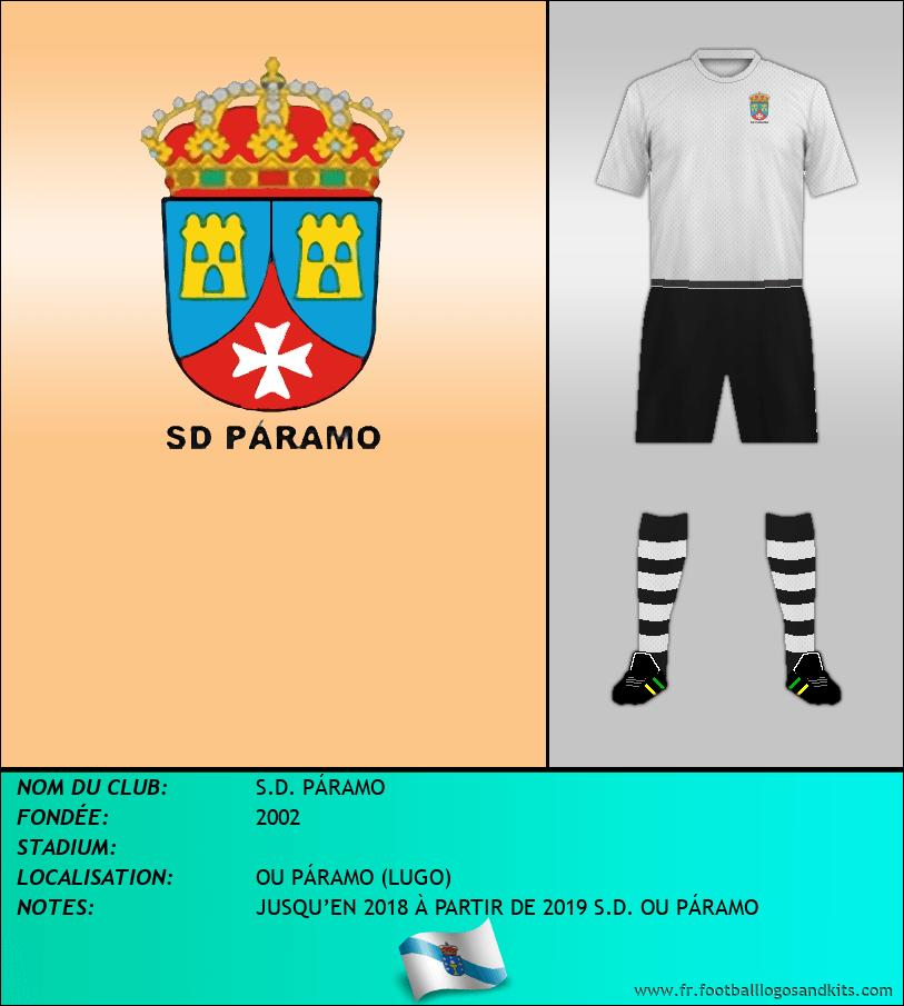 Logo de S.D. PÁRAMO