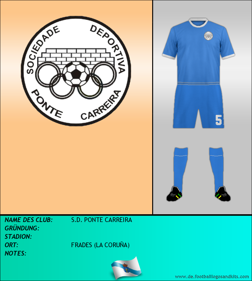Logo S.D. PONTE CARREIRA