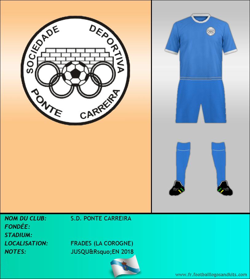 Logo de S.D. PONTE CARREIRA