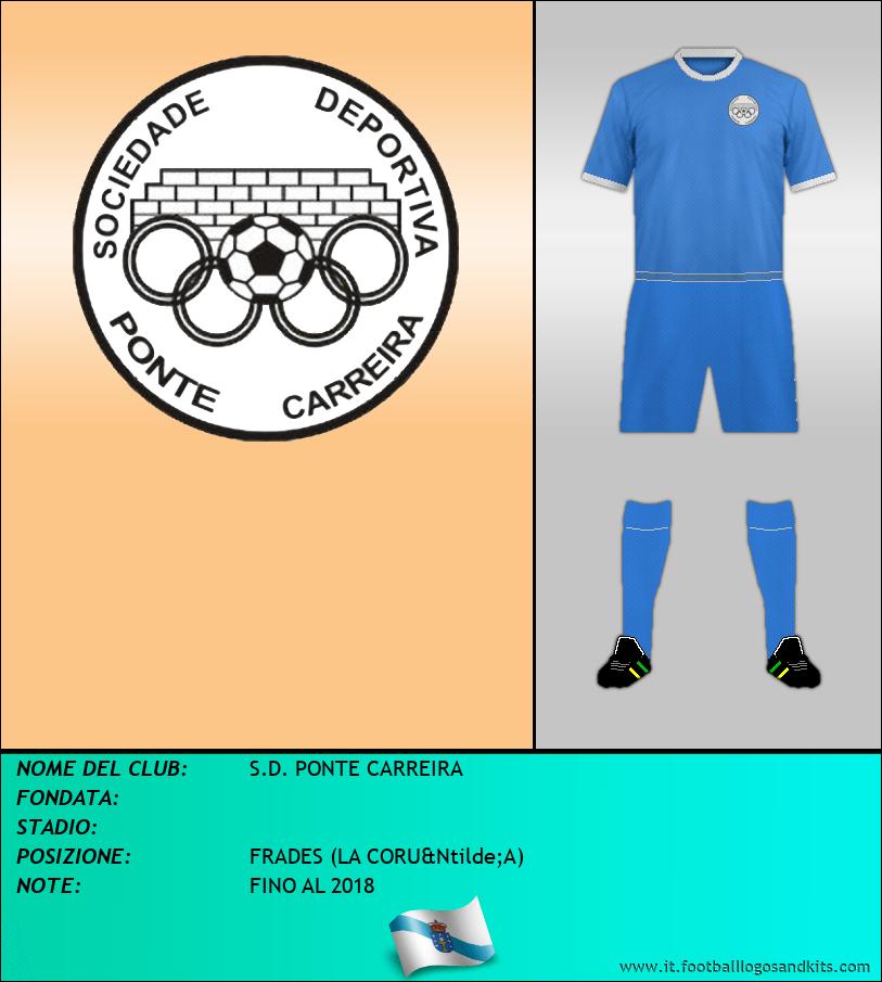 Logo di S.D. PONTE CARREIRA