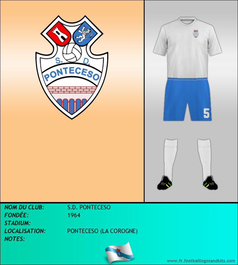 Logo de S.D. PONTECESO