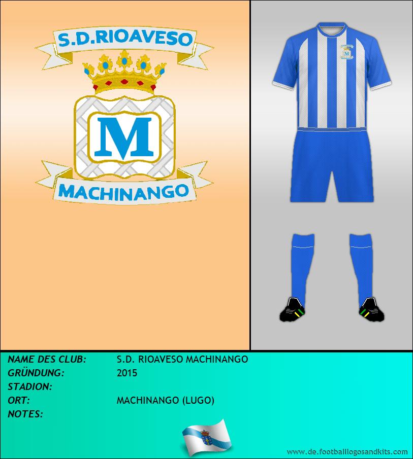 Logo S.D. RIOAVESO MACHINANGO