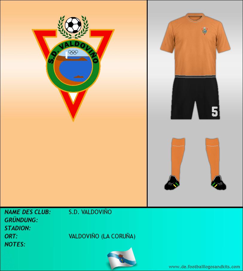 Logo S.D. VALDOVIÑO