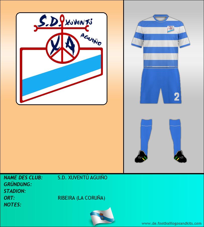 Logo S.D. XUVENTÚ AGUIÑO