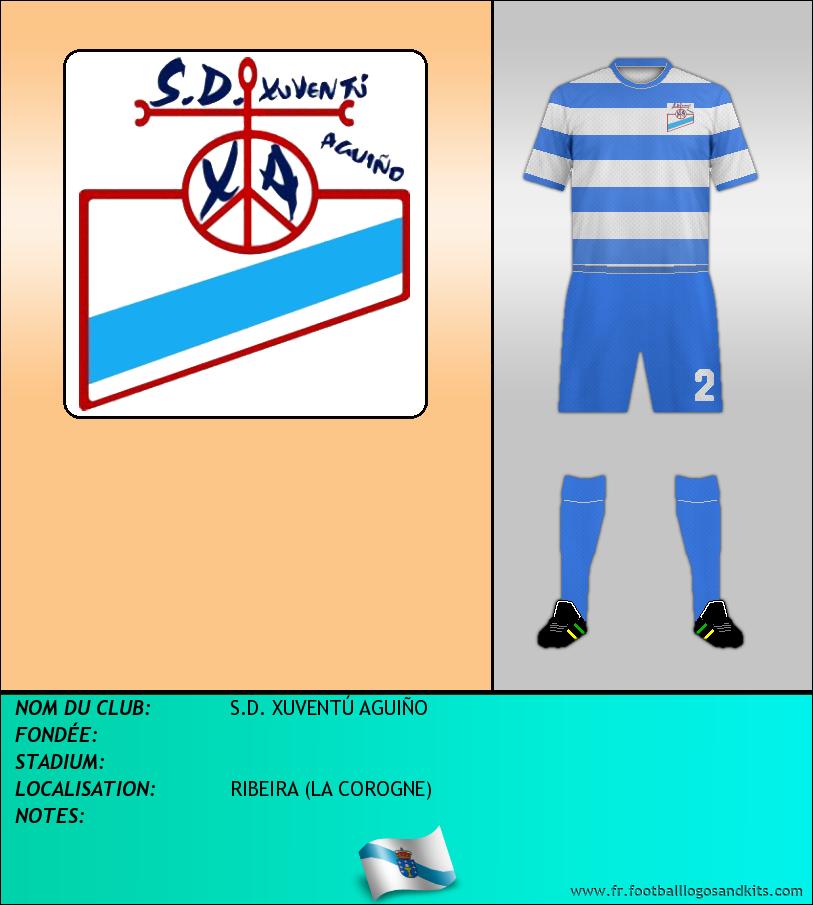 Logo de S.D. XUVENTÚ AGUIÑO