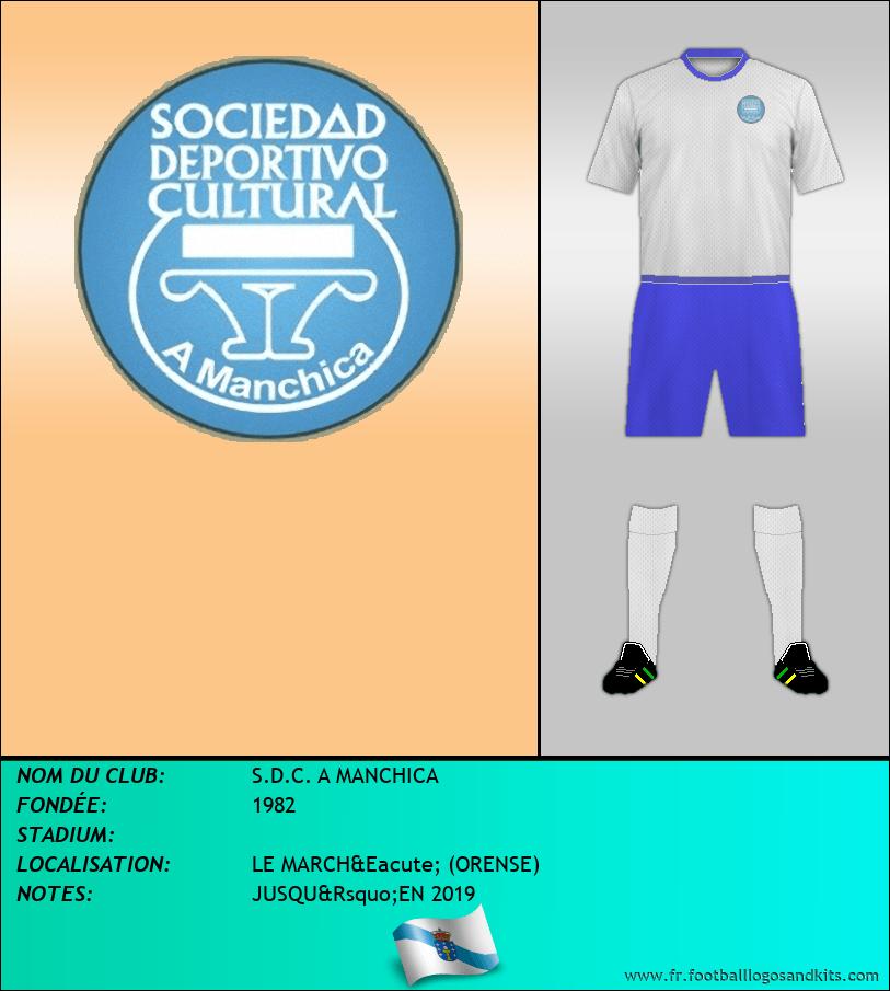 Logo de S.D.C. A MANCHICA
