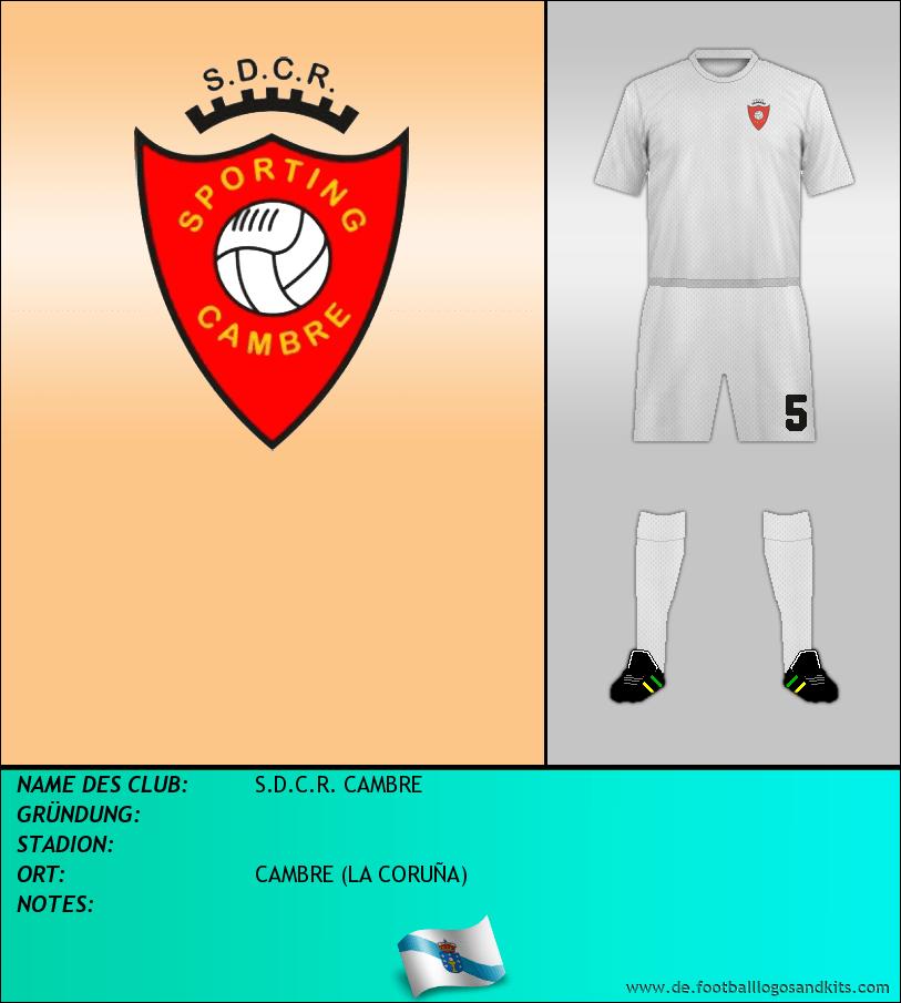 Logo S.D.C.R. CAMBRE