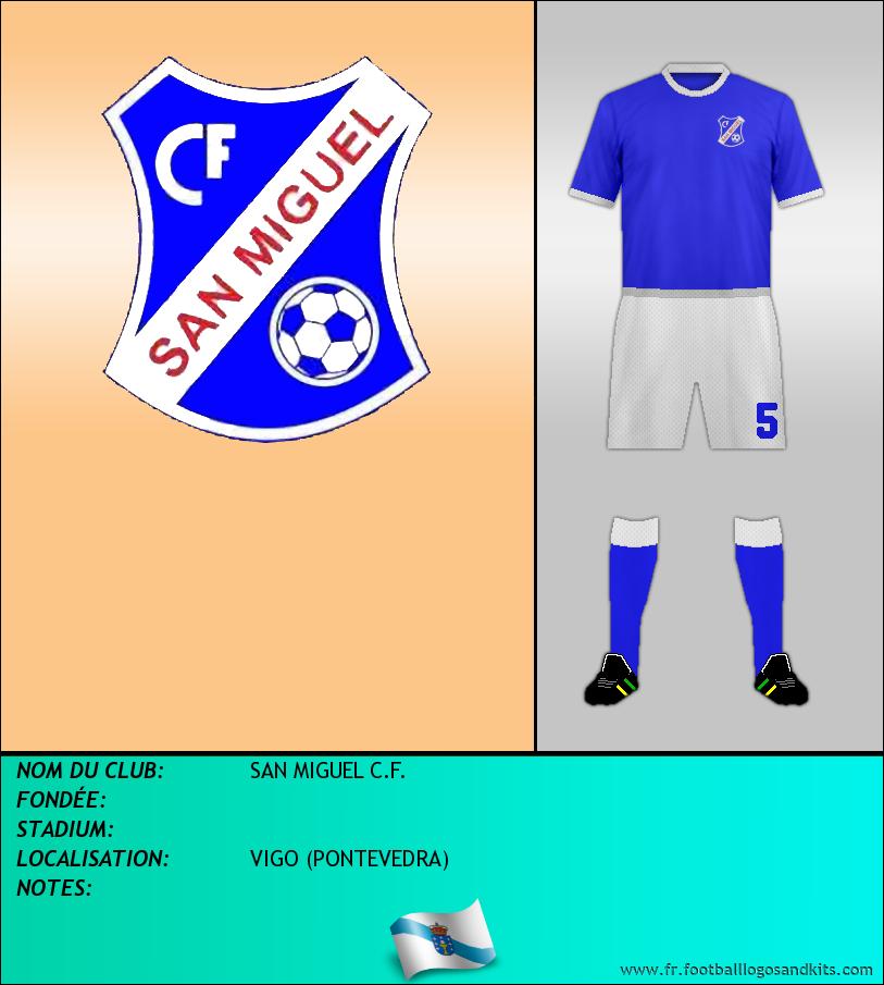 Logo de SAN MIGUEL C.F.