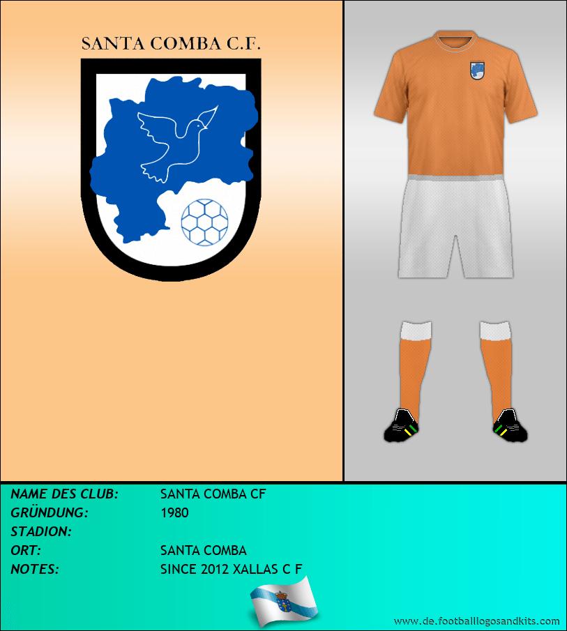 Logo SANTA COMBA CF