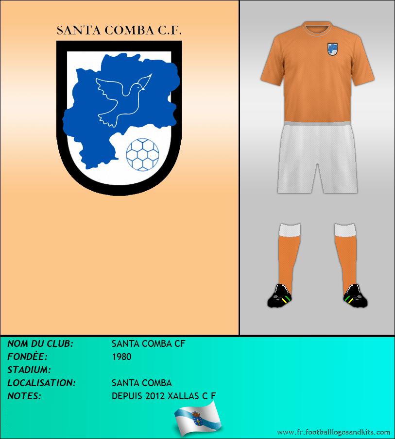 Logo de SANTA COMBA CF