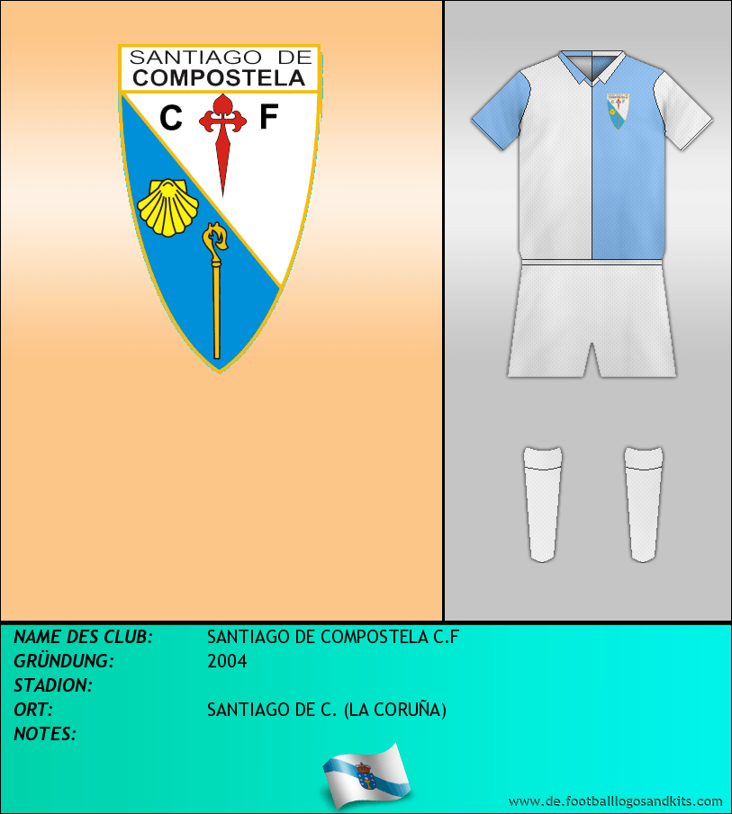 Logo SANTIAGO DE COMPOSTELA C.F