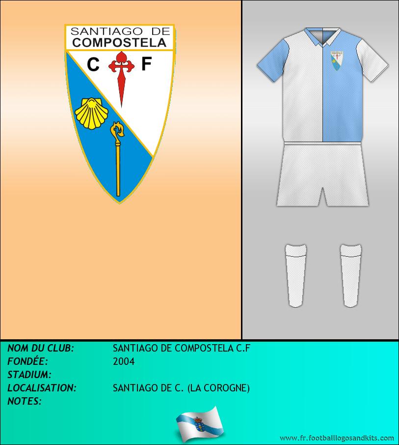 Logo de SANTIAGO DE COMPOSTELA C.F