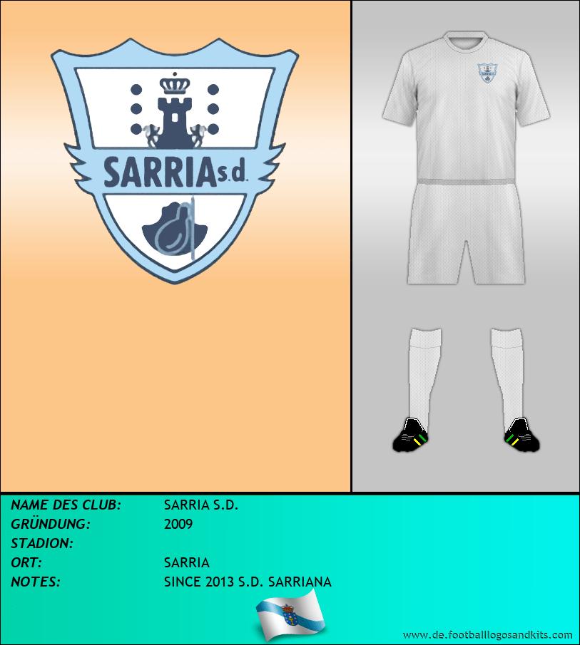 Logo SARRIA S.D.