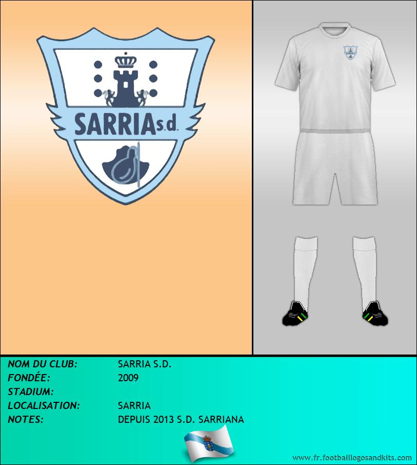 Logo de SARRIA S.D.