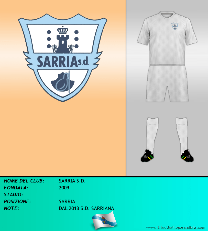 Logo di SARRIA S.D.
