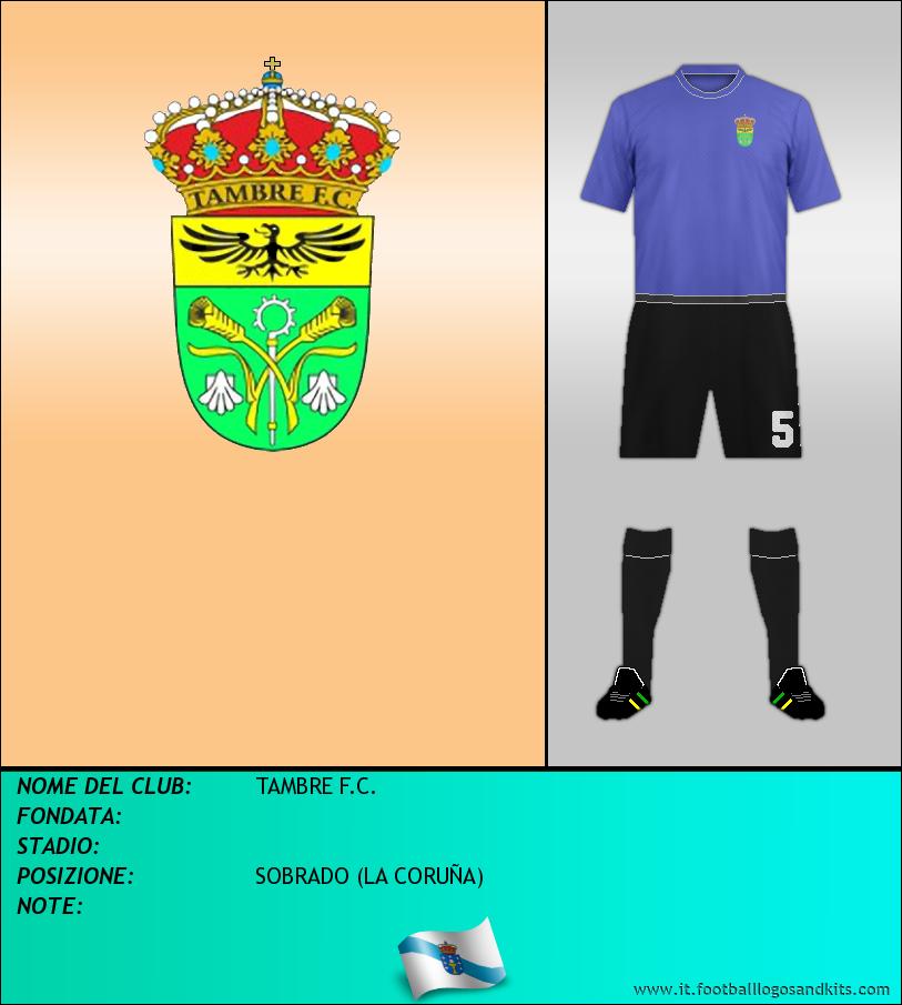 Logo di TAMBRE F.C.