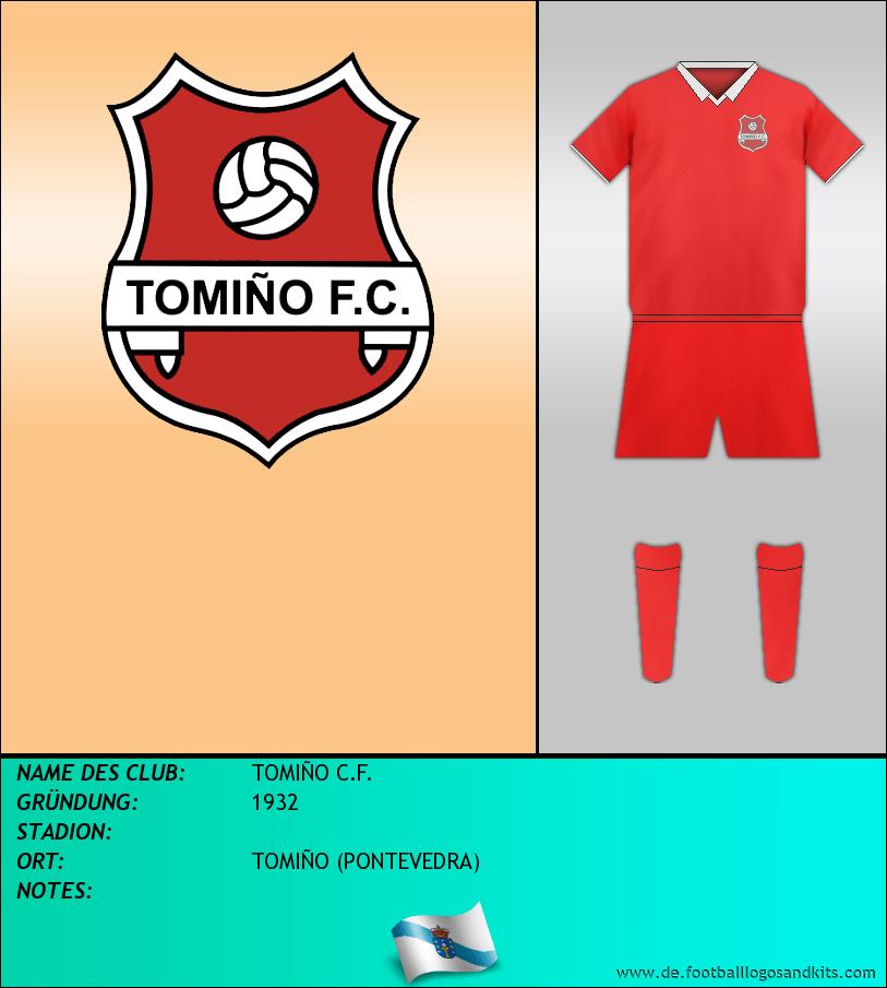 Logo TOMIÑO C.F.