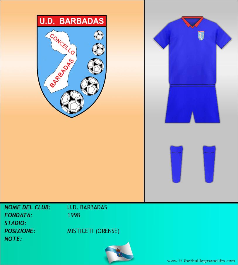 Logo di U.D. BARBADAS