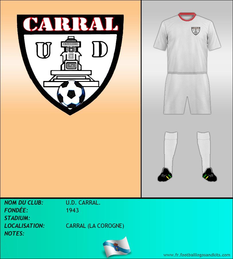 Logo de U.D. CARRAL.