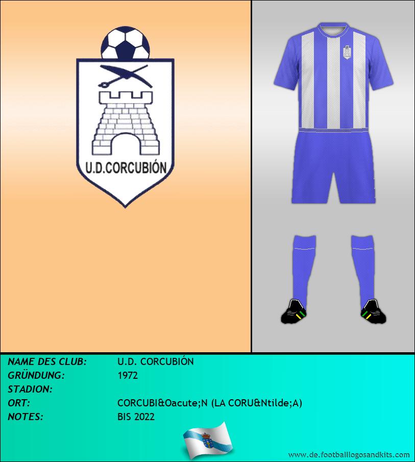 Logo U.D. CORCUBIÓN
