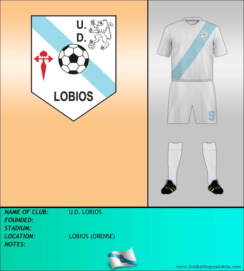 Logo of U.D. LOBIOS