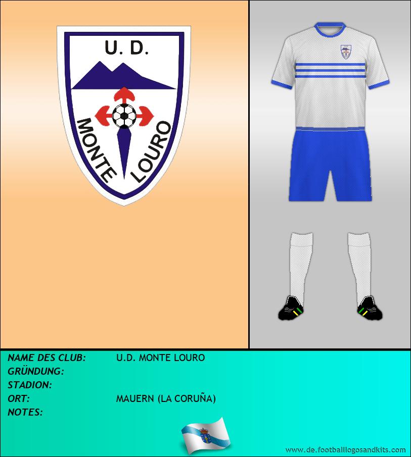 Logo U.D. MONTE LOURO