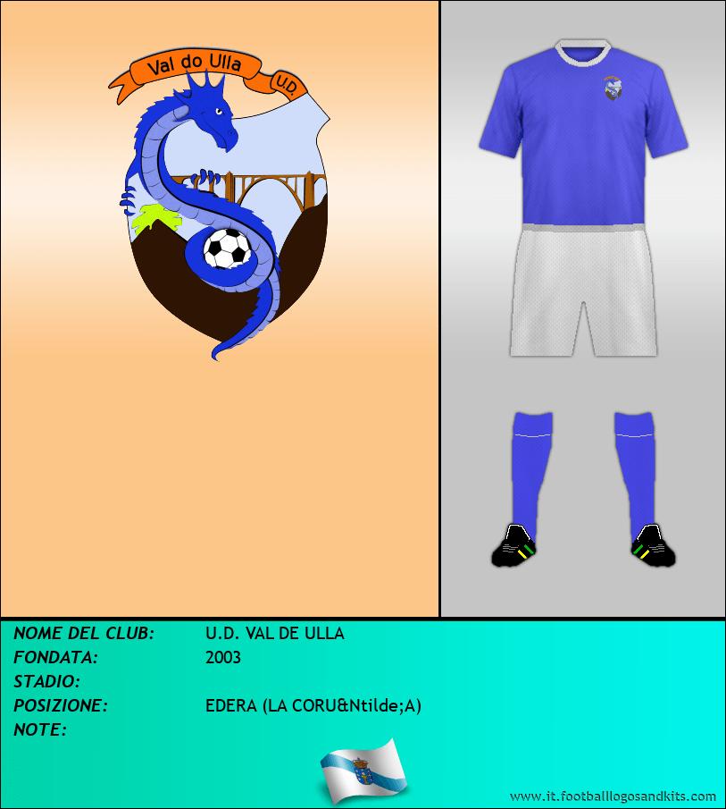 Logo di U.D. VAL DE ULLA