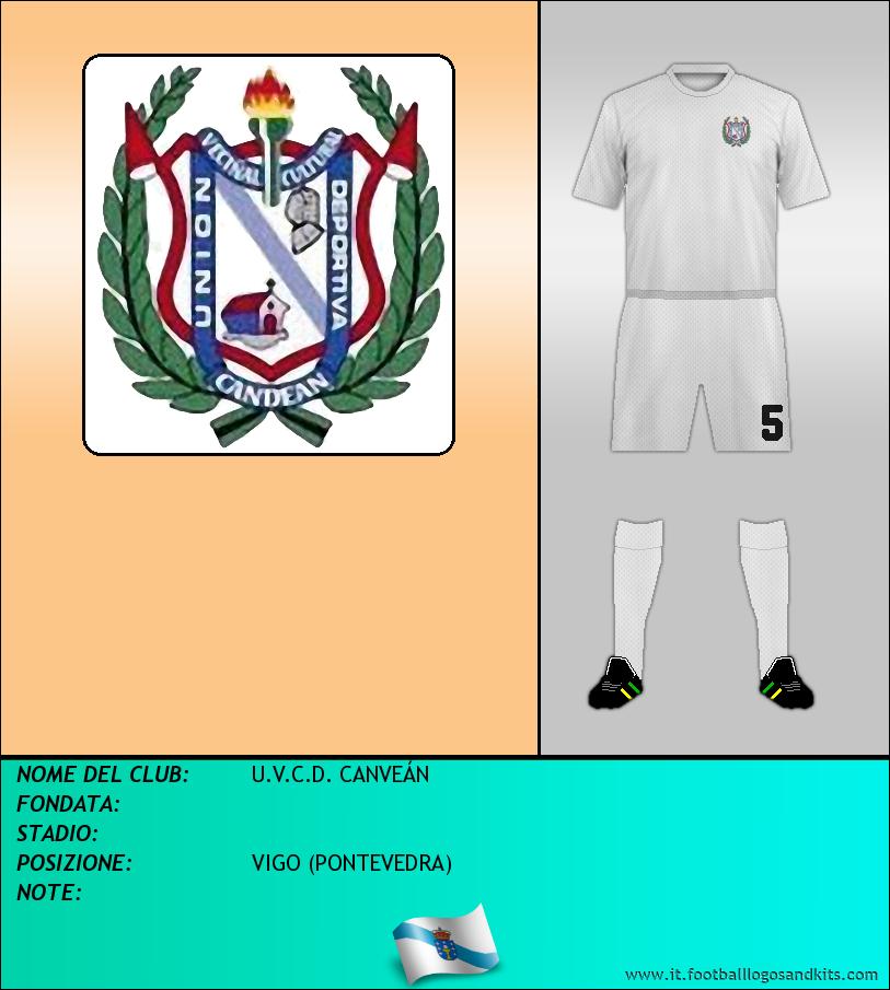 Logo di U.V.C.D. CANVEÁN