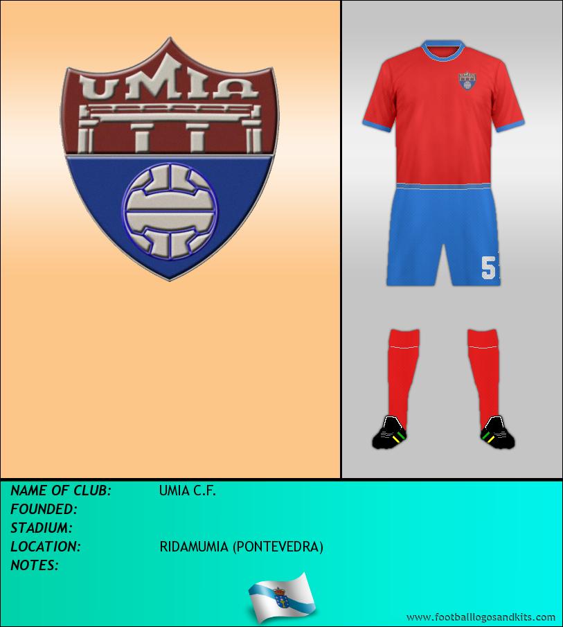 Logo of UMIA C.F.