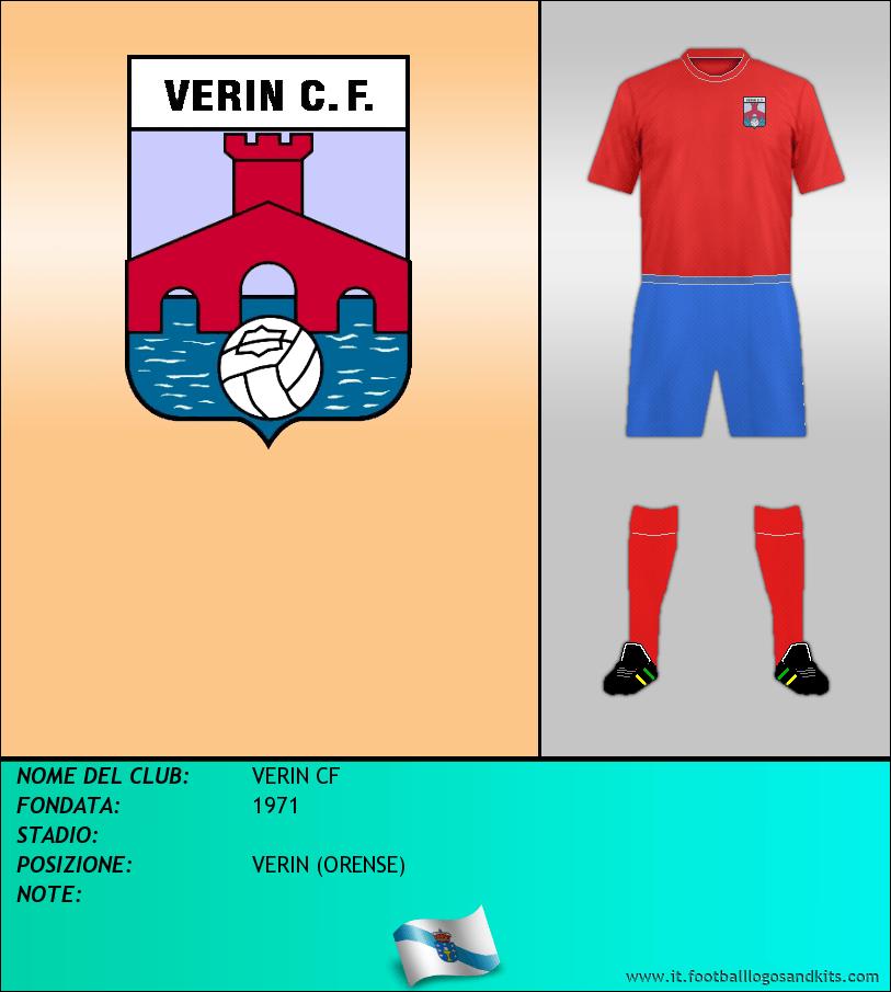 Logo di VERIN CF