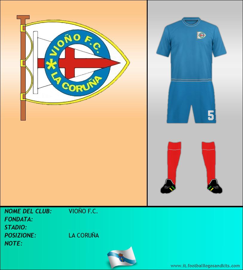 Logo di VIOÑO F.C.