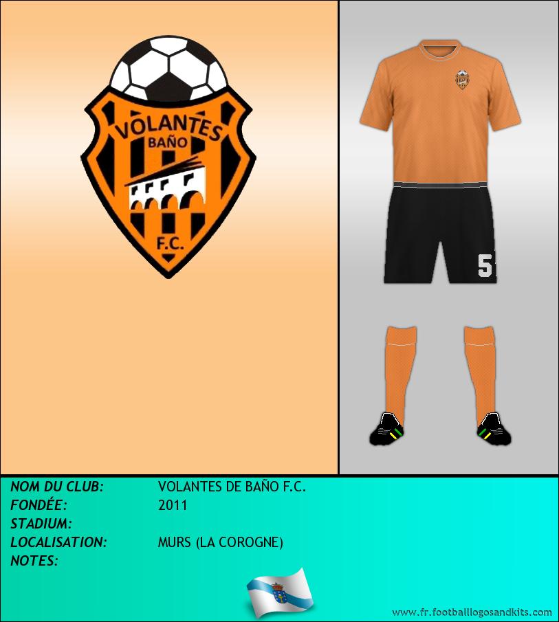 Logo de VOLANTES DE BAÑO F.C.