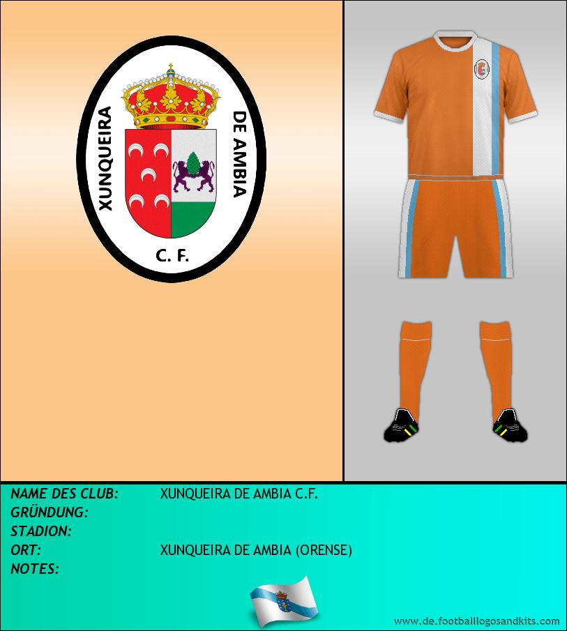 Logo XUNQUEIRA DE AMBIA C.F.