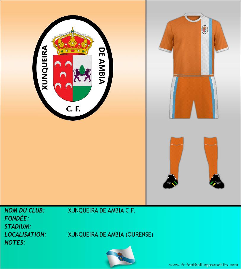 Logo de XUNQUEIRA DE AMBIA C.F.