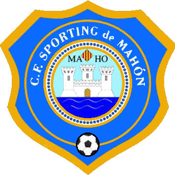 Logo of C.F. SPORTING DE MAHÓN (BALEARIC ISLANDS)