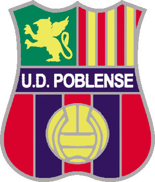 Logo U.D. POBLENSE  (BALEAREN)